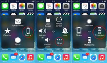 วิธีจับภาพหน้าจอบนmac,iphone,ipad