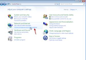 การแชร์ไฟล์ระหว่าง Windows 7กับ Windows xp