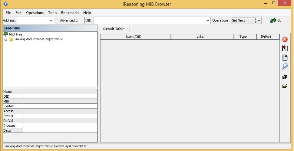 WatFile.com Download Free ใช้งาน iReasoning MIB-Browser – Network Operation Center