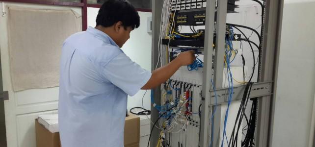 เพิ่มอุปกรณ์ Switch ศูนย์พระนครเหนือ อาคารอนุสรณ 40 ปี ชั้น 8 ห้อง Network Center