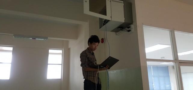 ปรับปรุงอุปกรณ์ระบบเน็ตเวิร์ก ศูนย์พระนครเหนือ อาคารกิจการนักศึกษา ชั้น 6