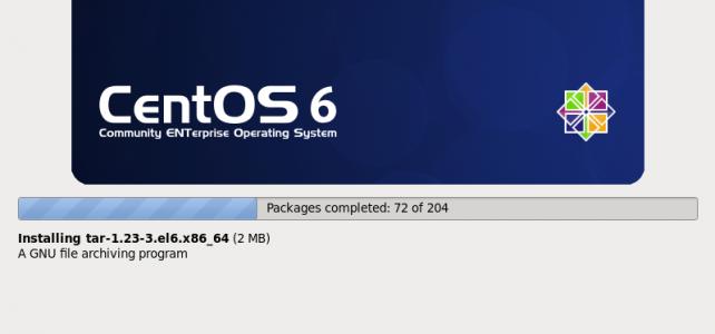 วิธีติดตั้งระบบปฎิบัติการ CentOS 6 บน VM Ware