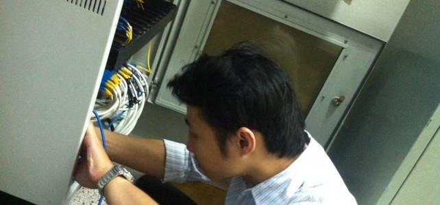 เพิ่มอุปกรณ์ Switch  ศูนย์พระนครเหนือ อาคารเรียนและปฎิบัติการสาขาวิศวกรรมอุตสาหการ ชั้น 2  ห้องพักอาจารย์
