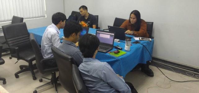 แลกเปลี่ยนความรู้การใช้งานซอฟต์แวร์ Splunk ณ ศูนย์เทเวศร์