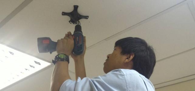 เปลี่ยนอุปกรณ์เครือข่ายไร้สาย Access Point รุ่น 205 ณ ศูนย์พณิชยการพระนคร