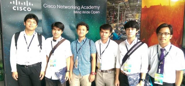 นักศึกษา มทร.พระนคร เข้าร่วมสอบแข่งขัน NetRiders Competition