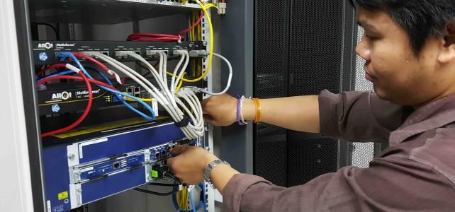 ติดตั้งอุปกรณ์ป้องกันการบุกรุกระบบเครือข่าย (Firewall) ศูนย์พระนครเหนือ