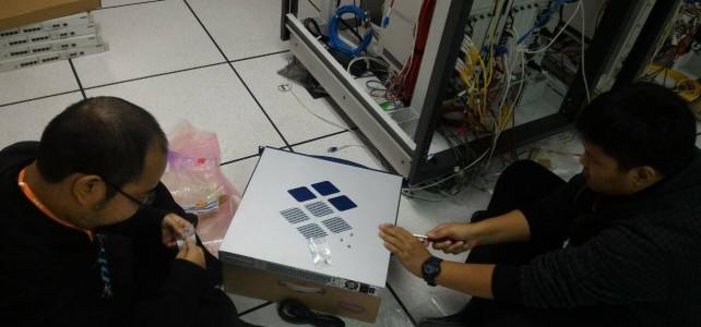 ติดตั้งอุปกรณ์ DHCP Server ศูนย์พณิชยการพระนคร