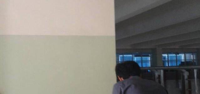 แก้ไข switch alcatel 6224 ชั้น 6 ตึก กิจการนักศึกษา