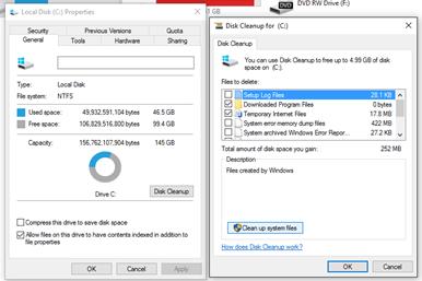 การลบโฟลเดอร์ Windows.old บน Windows 10