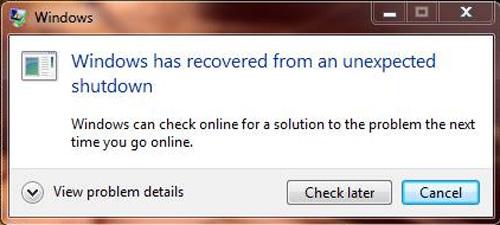 เครื่องคอมพิวเตอร์ Restart ตลอด