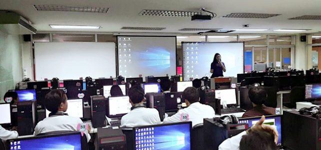 แนะนำการใช้ห้องศูนย์การเรียนรู้ด้วยตนเองให้กับนักศึกษาคณะวิศวกรรมศาสตร์