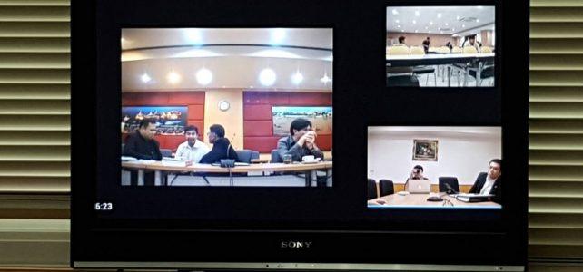 จัดเตรียมการประชุมผ่านอุปกรณ์ video conference
