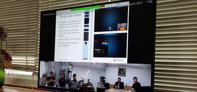 ทดสอบระบบ Video conference