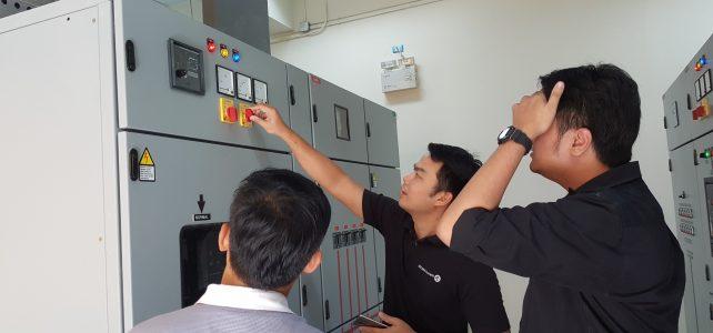 ทดสอบระบบสำรองไฟฟ้าอาคารสำนักวิทยบริการและเทคโนโลยีสารสนเทศ