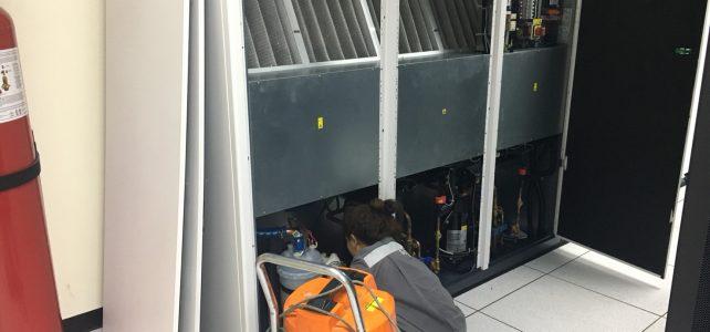 บำรุงรักษาเครื่องทำความเย็นห้อง data center วิทยาเขตเทเวศร์