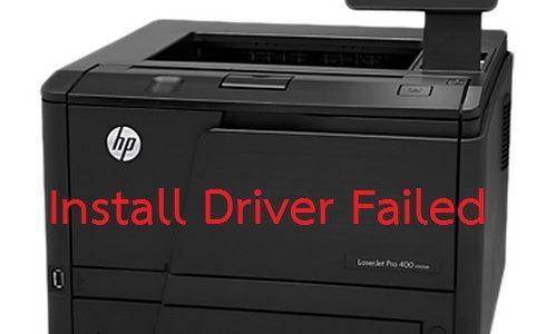 การลง Driver HP LaserJet Pro 400 M401 ผ่าน Usb
