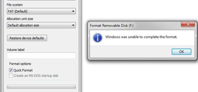 วิธีแก้ usb flash drive เปิดใช้งานไม่ได้ และฟ้องให้ format ตลอด
