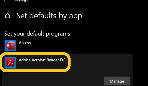 วิธีตั้งค่าDefault apps สำหรับ Windows10